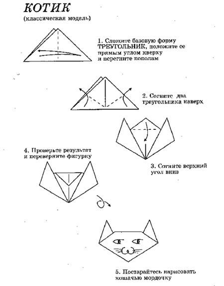 схема оригами - Самое интересное в блогах.