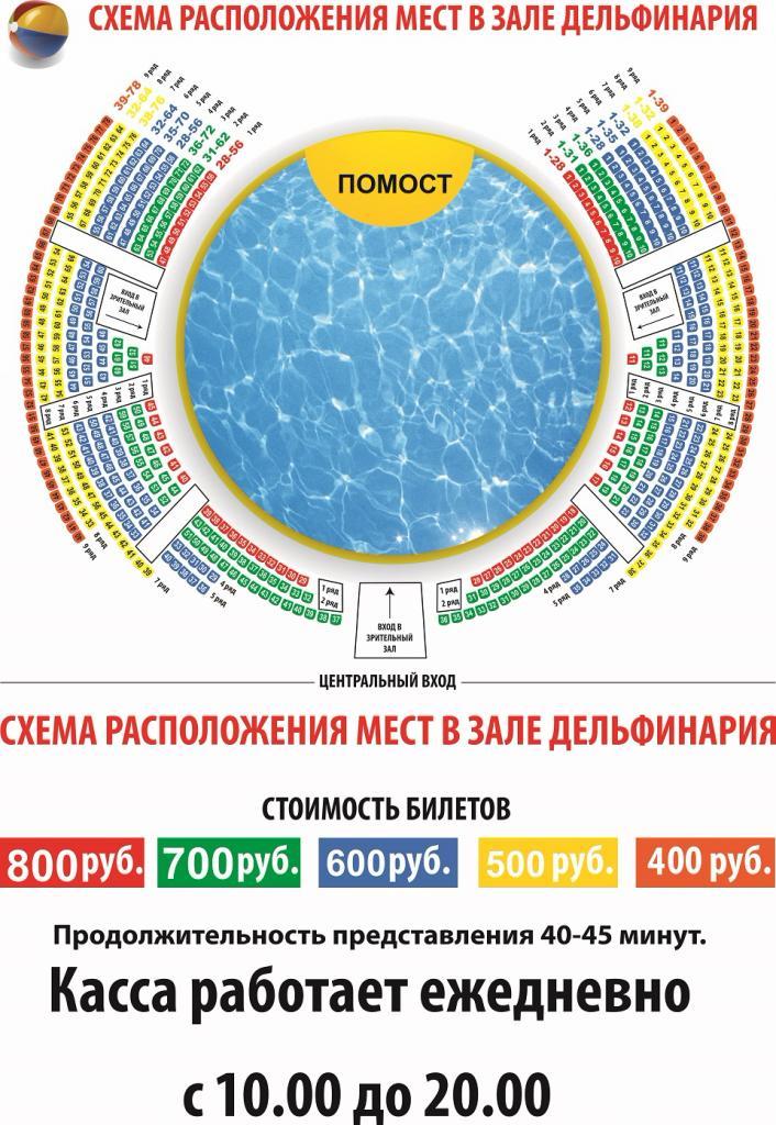 Схема мест Сормовского