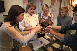 Клуб ННМАМ, кулинарный мастер-класс