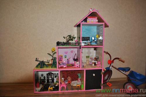 Детская кукольного домика своими руками 345