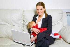 Работа а дому для мам