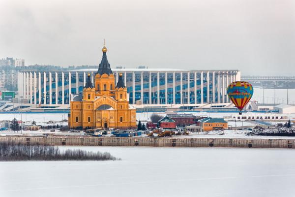 Достопримечательности Нижнего Новгорода Александро-Невский Новоярмарочный собор
