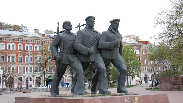 Достопримечательности Нижнего Новгорода Площадь Маркина