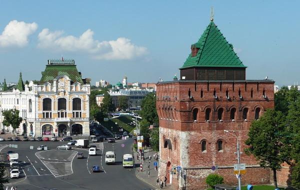 Достопримечательности Нижнего Новгорода Площадь Минина и Пожарского