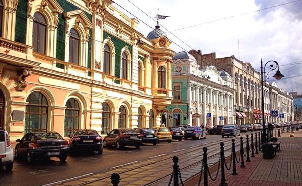 Достопримечательности Нижнего Новгорода Улица Рождественская