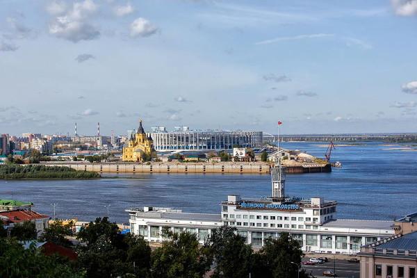 Достопримечательности Нижнего Новгорода Стрелка