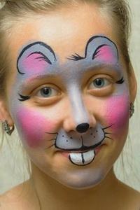 рисунки детям на лице фото