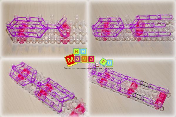 Плетение фигурок из резиночек