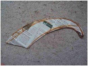 Платье из газеты своими руками инструкция