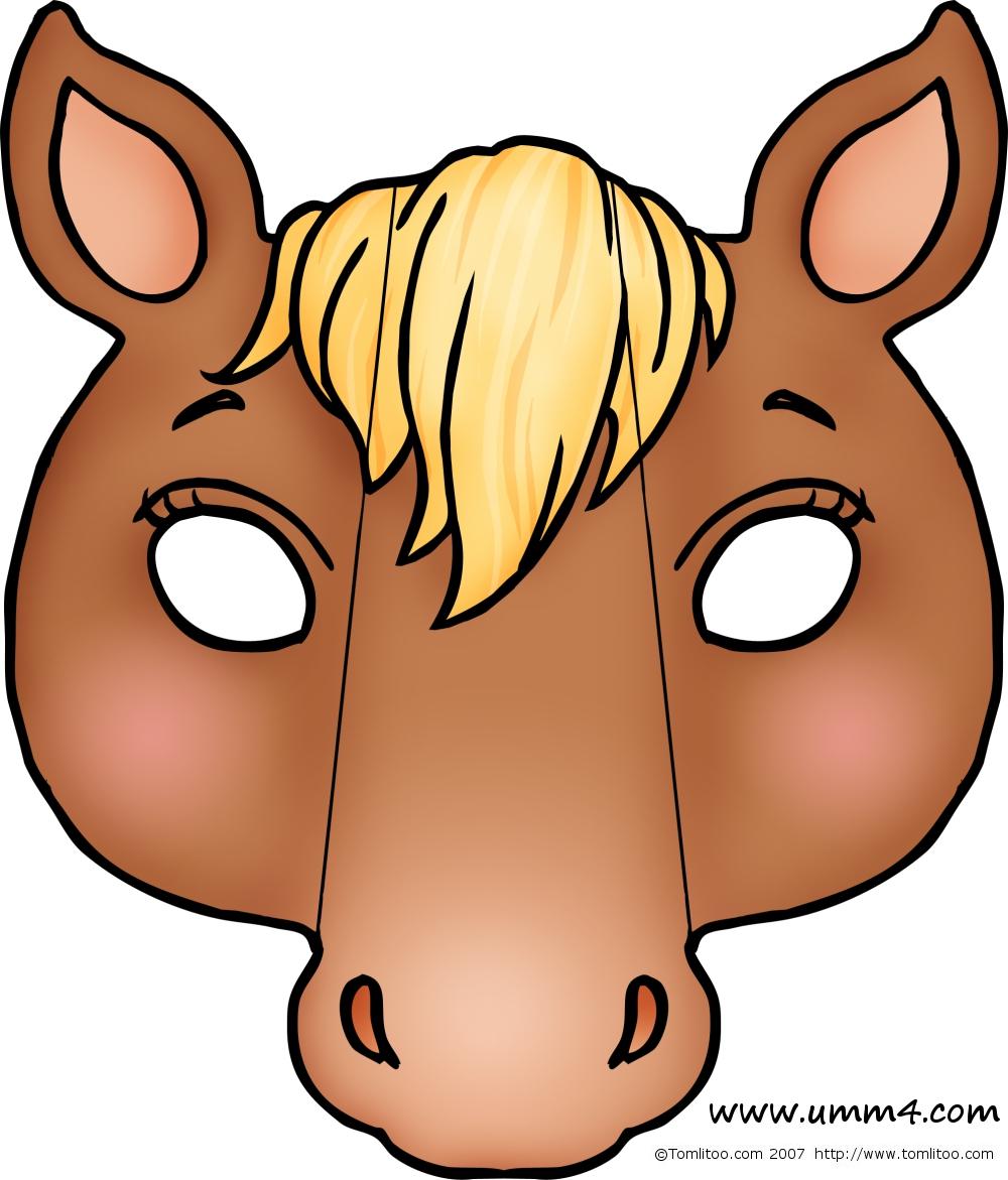 Как сделать маску лошади из бумаги своими руками