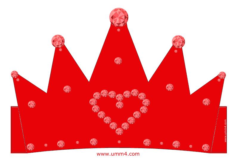 Как сделать корону принцессы из картона
