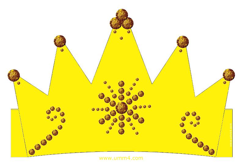 Бумажная корона своими руками для принцессы