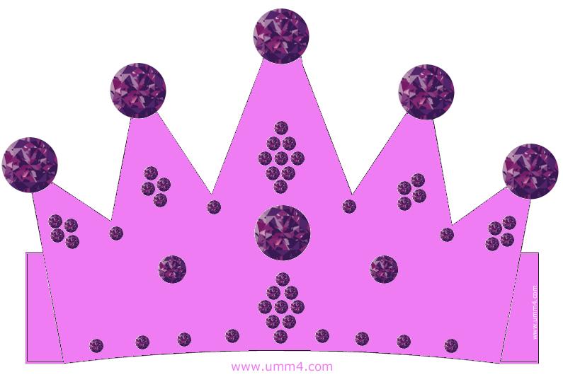 Корона для девочки из картона своими руками