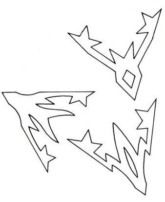 Вертолет для модульного оригами